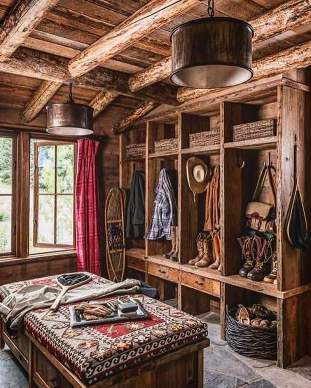 13 Best Cabin Style Interior Inspirations With Images Rustic