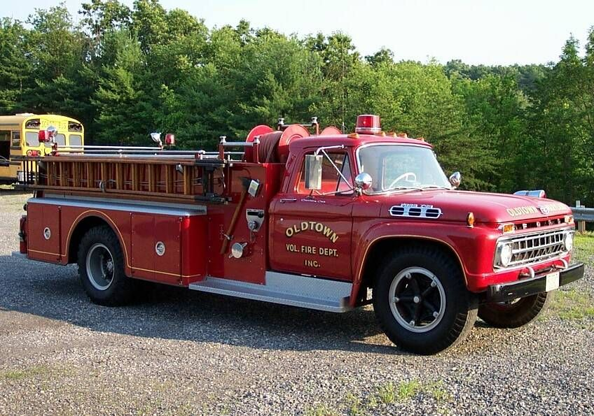 1966 Ford F750 Fire Truck | Emergency Vehicles (Firetrucks ...