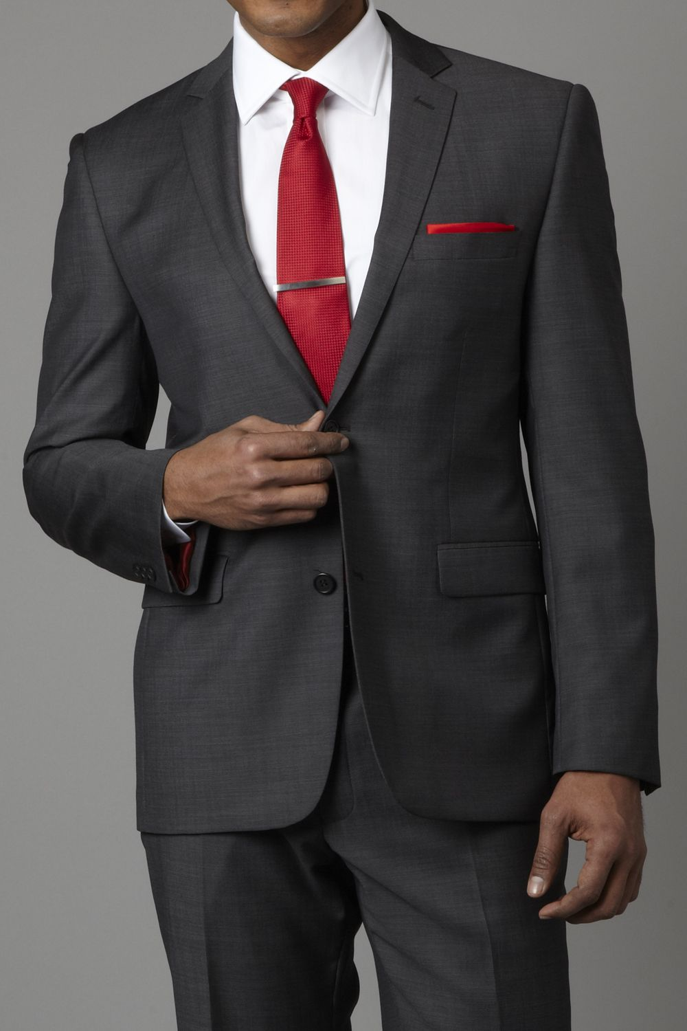 Gucci grey suit/black shirt combination | Clothing | Pinterest ...