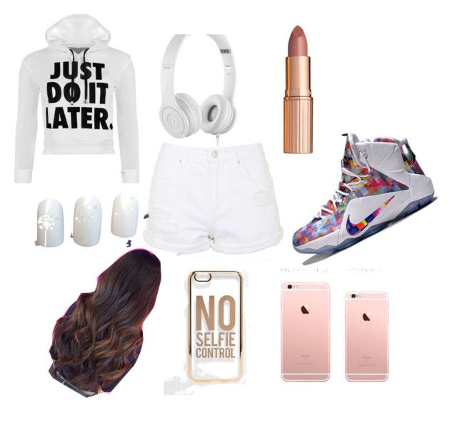 Untitled #5 by niam2cute on Polyvore featuring polyvore, fashion, style, WearAll, Topshop, ASOS, Beats by Dr. Dre, NIKE and clothing