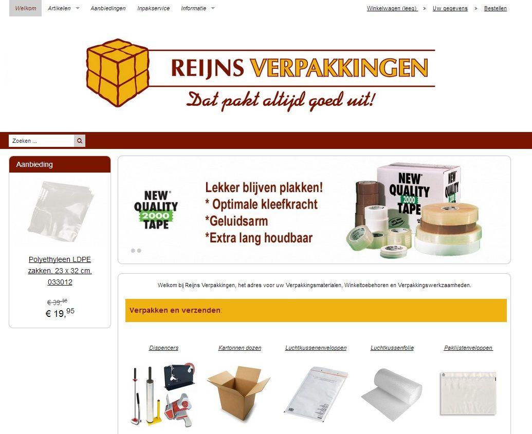 Reijns Verpakkingen in Woerden, Utrecht