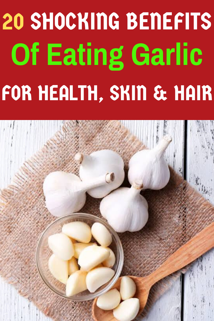 what are the health and skin benefits of garlic (uses