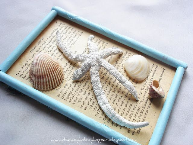 The Lazy Hobbyhopper: DIY: Rolled paper frame