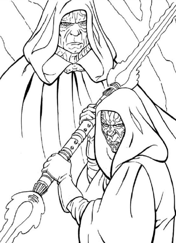 Star Wars Coloring Pages Revenge Of The Sith Coloring Ideas In