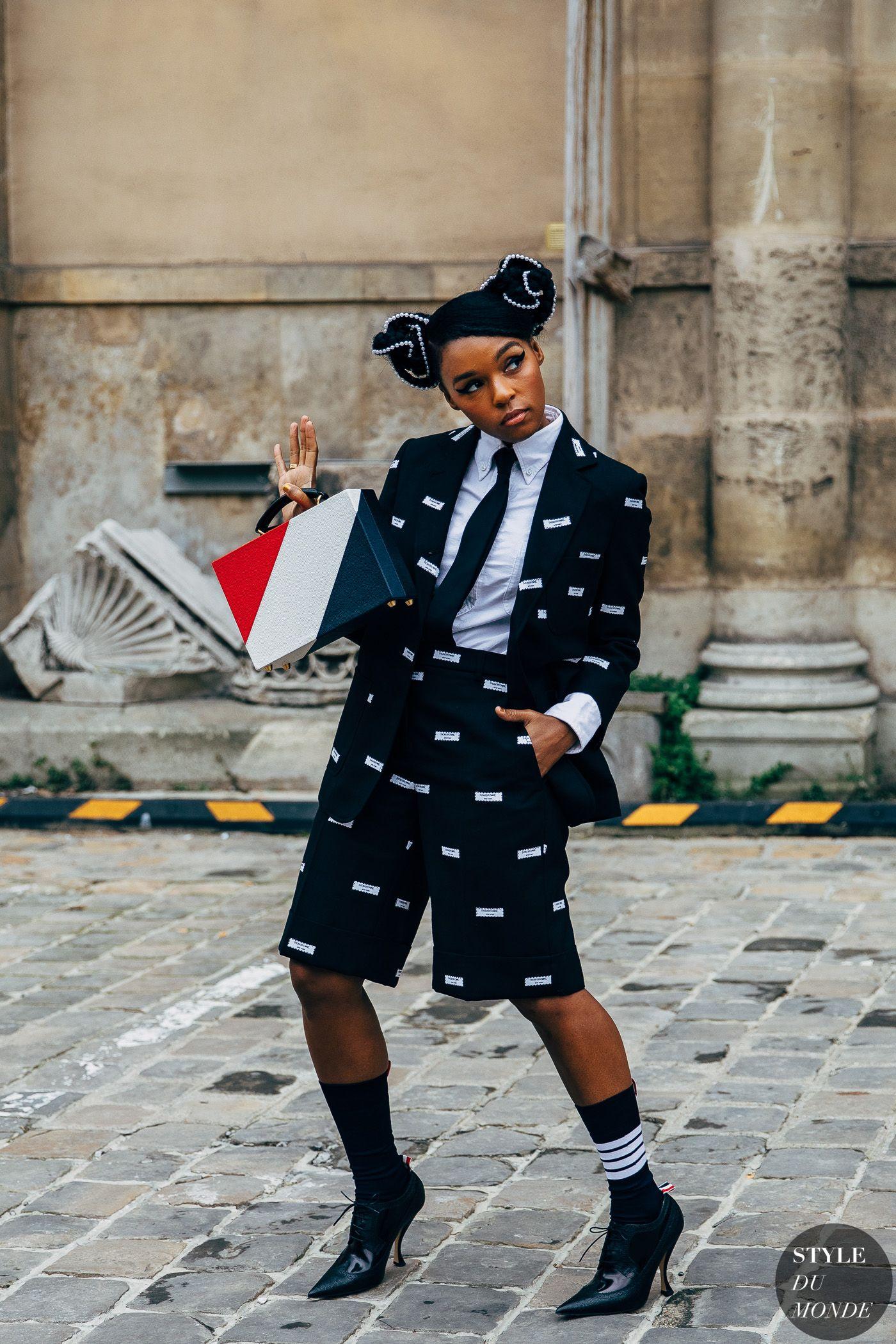 Janelle Monae Tour 2020.Paris Fw 2019 Street Style Janelle Monae Unused Street