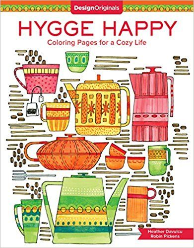 Hygge Happy Coloring Pages for a Cozy Life DIY Craft