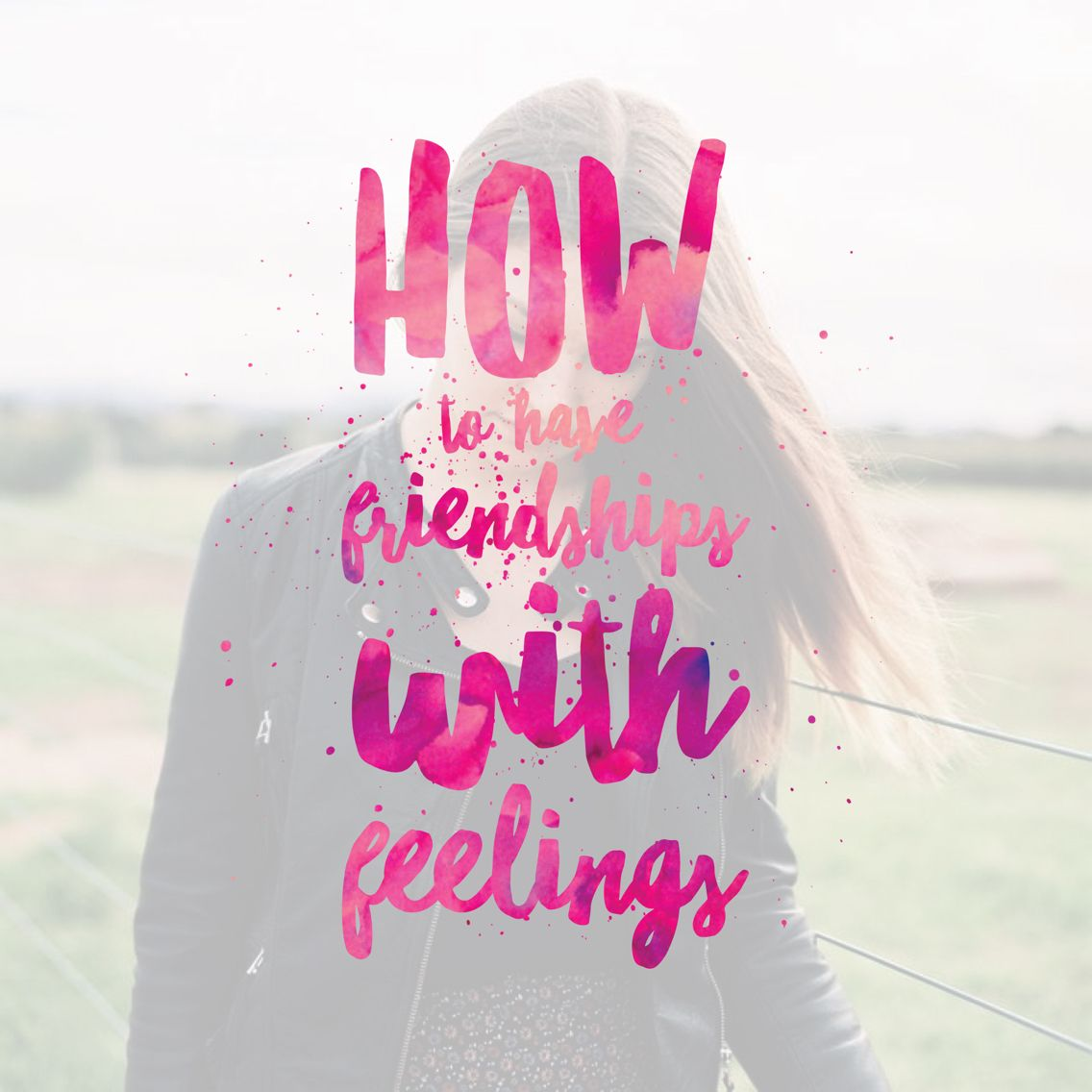 "HOW TO HAVE FRIENDSHIPS WITH FEELINGS! Confused about Christian ""dating"" or courting or godly relationships or whatever we're calling it these days? Click through to see how to do it right and what healthy boundaries look like"