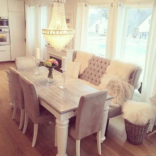 Nobody Would Sit There If I Had This  Real Home Furniture Prepossessing White Dining Room Bench Design Inspiration