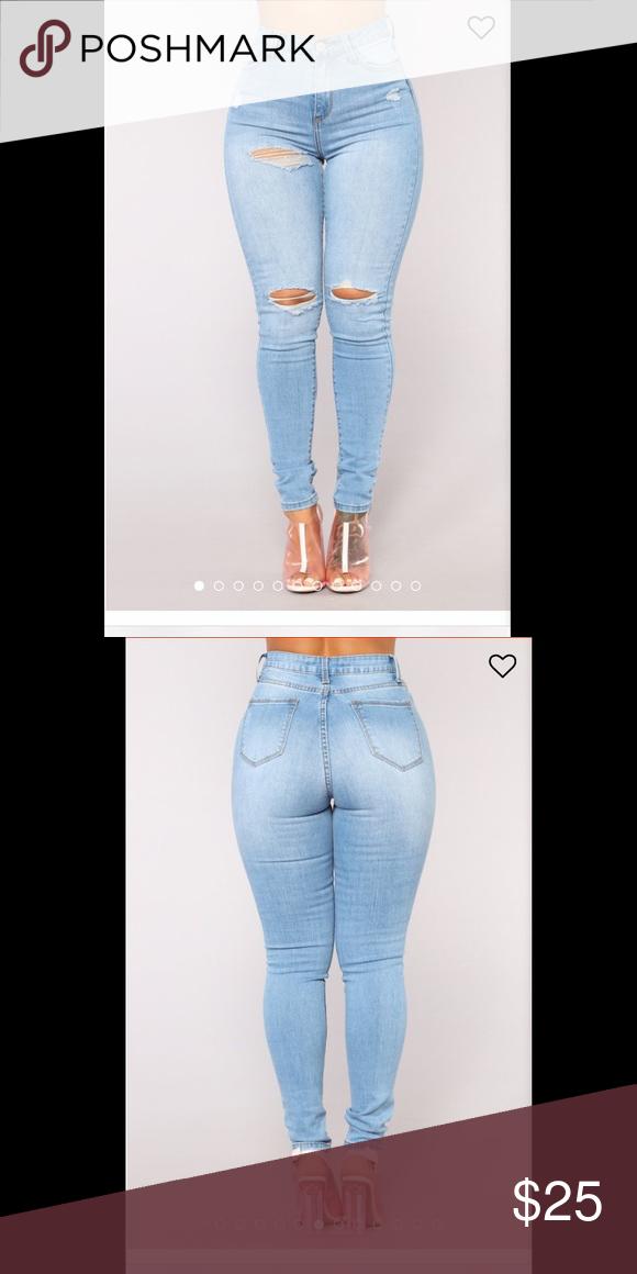 Fashion Nova jeans New with tags. Size 1. Fashion Nova Jeans
