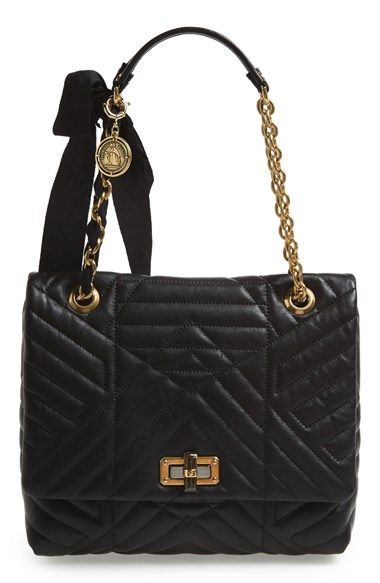 Lanvin Medium Hy Quilted Leather Shoulder Bag Available At Nordstrom