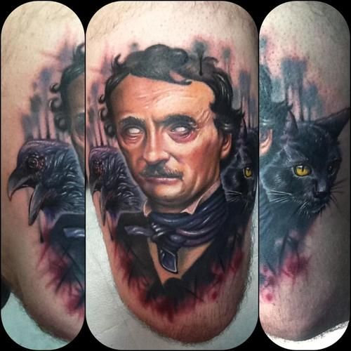 Poe by Paul Acker, Philadelphia, PA