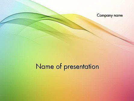 Pastel colors wave background powerpoint template vicky pastel colors wave background powerpoint template toneelgroepblik Gallery