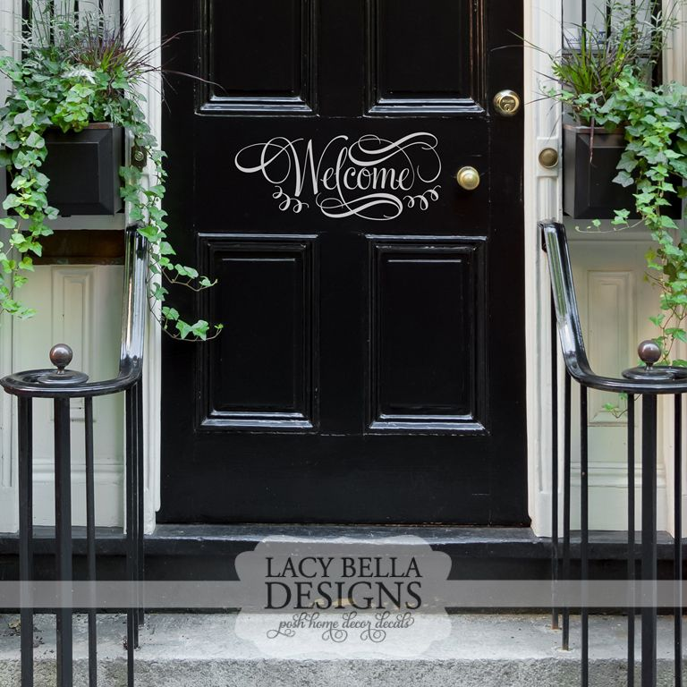 Welcome  .lacybella.com | Lacy Bella | This welcoming vinyl lettering & Welcome