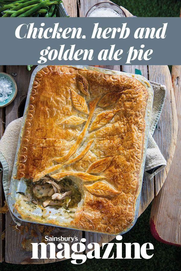 Chicken, herb and golden ale pie | Recipe | Ale pie ...