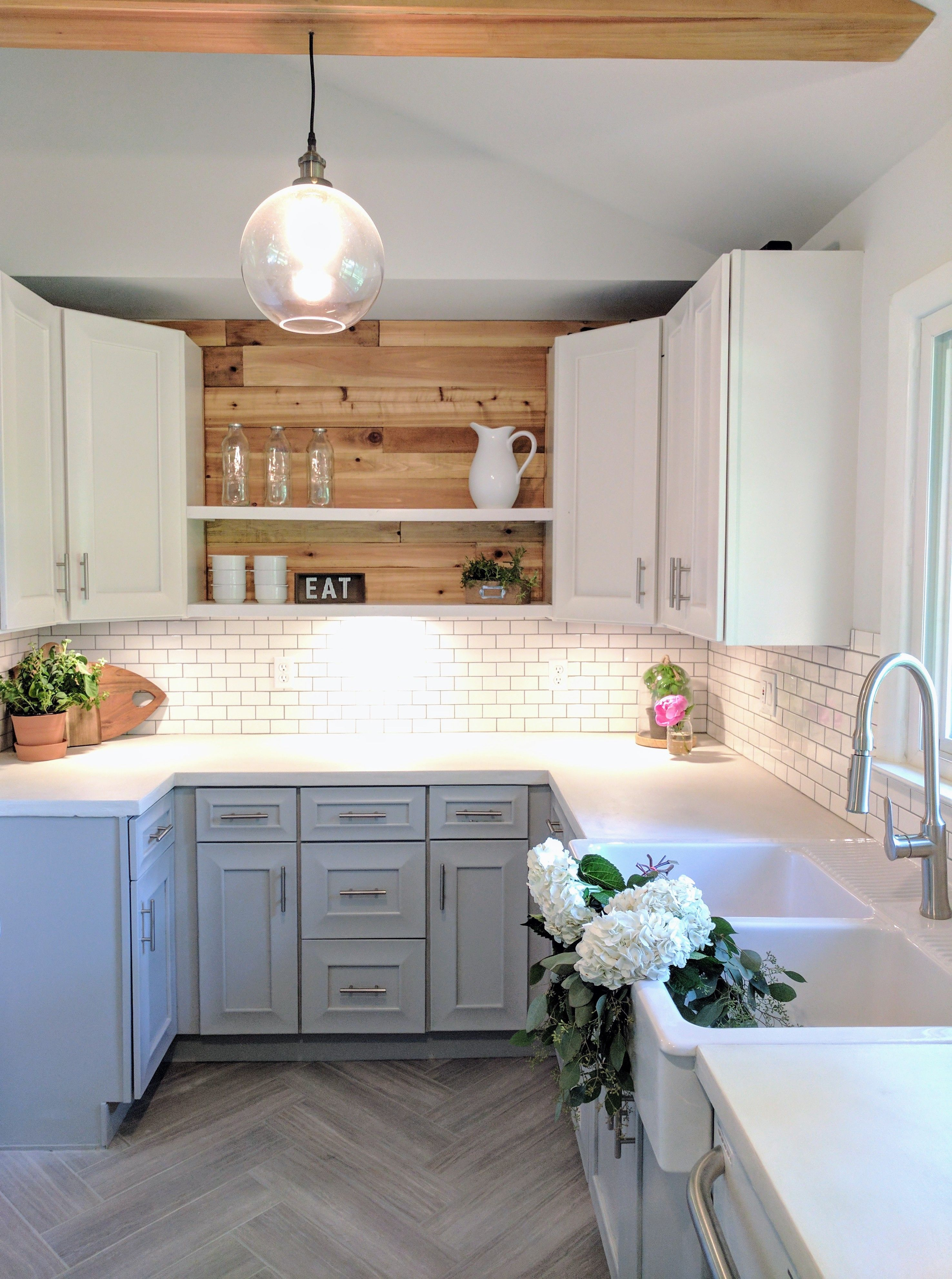 5 Ways To Make A Small Kitchen Feel Bigger Kitchen Design Small Small Kitchen Renovations Kitchen Remodel Small