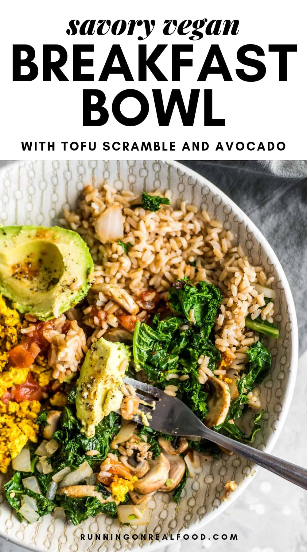 Savory Vegan Breakfast Bowl Recipe With Images Savory Vegan Breakfast Bowls Breakfast Bowls Recipe