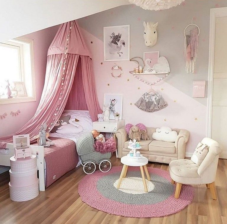 25+ Cute Unicorn Bedroom Ideas For Kid Rooms images