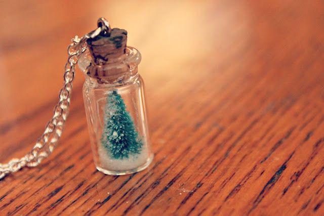 Tiny Christmas Tree Snow Globe Pendant Tutorial The Beading Gems Journal