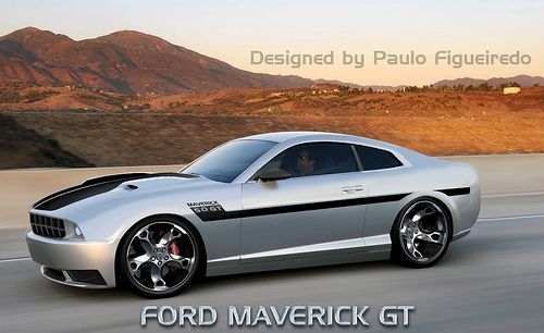 New Ford Maverick Gt With Images Ford Maverick Ford Mustang