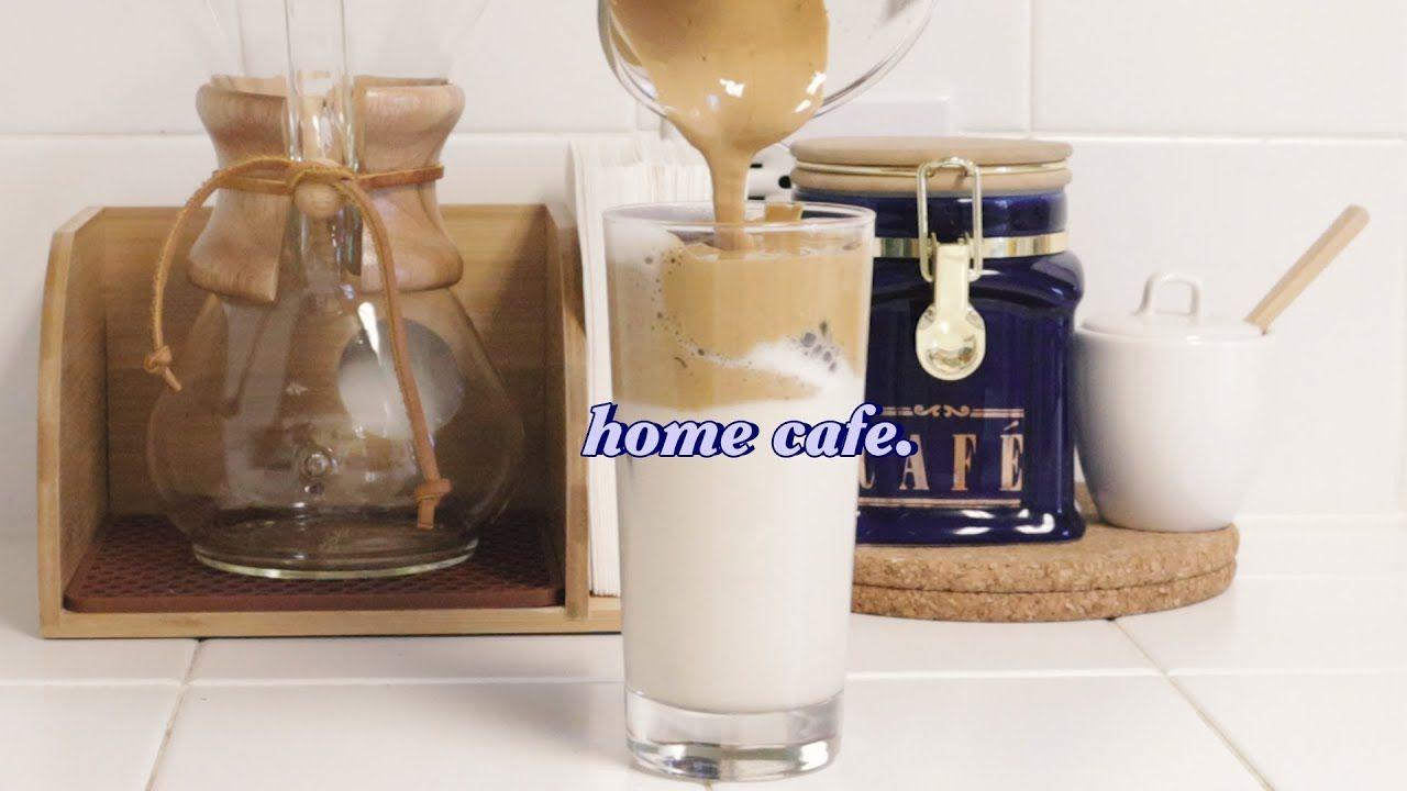 (home cafe) how to make dalgona coffee 달고나 커피 만들기