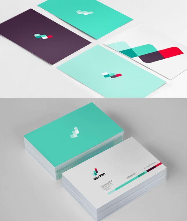 Identidad Worken by Paola Flores, Brand Identity Design