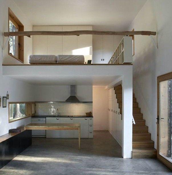 kleine wohnung einrichten mit hochbett_loft schlafzimmer gestalten - Wohnung Einrichten Wie