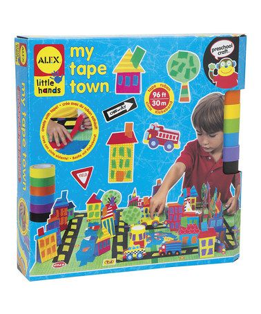 ALEX Toys Little Hands Tape-tastic Fashion Craft Kit