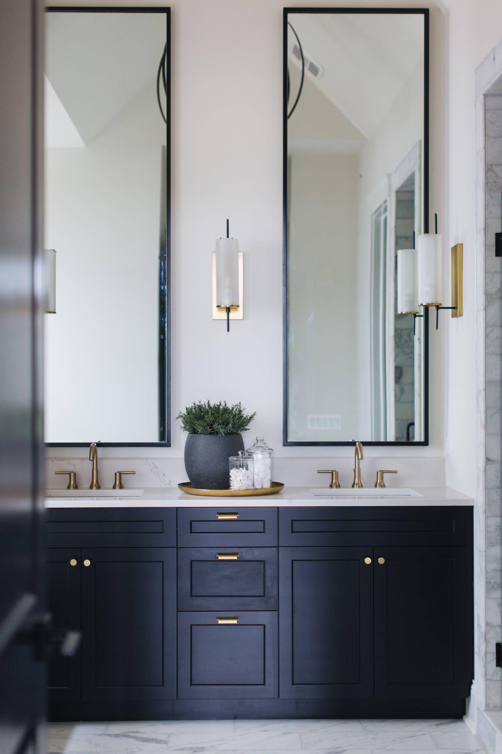 Chic farmhouse bathroom mirror bathroom mirror