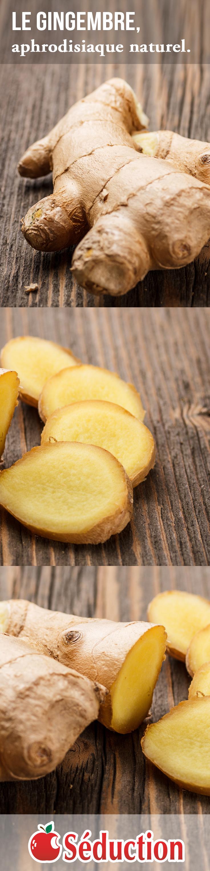 Le gingembre, aphrodisiaque naturel, peut faire des merveilles pour votre libido, en augmentant la circulation sanguine de vos organes sexuels.