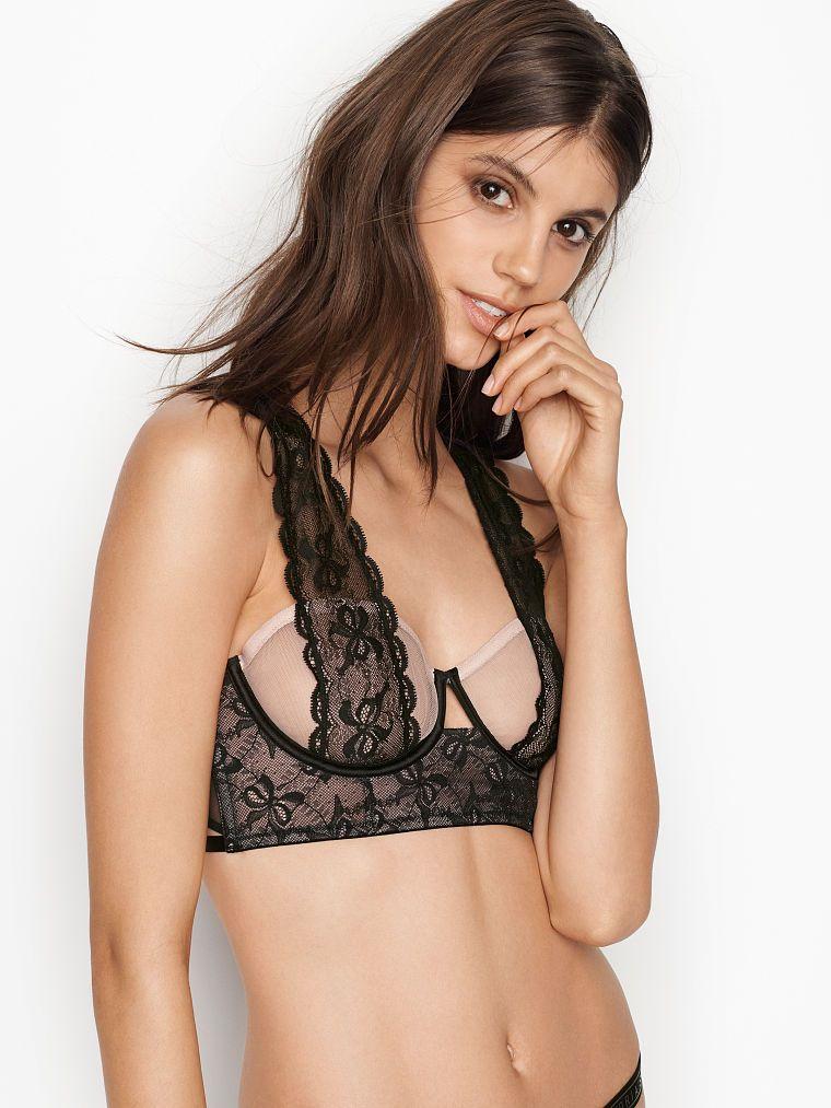 c9def3c62649cf Victoria's Secret Bow Lace Balconet Bra | Products in 2019 | Bra ...