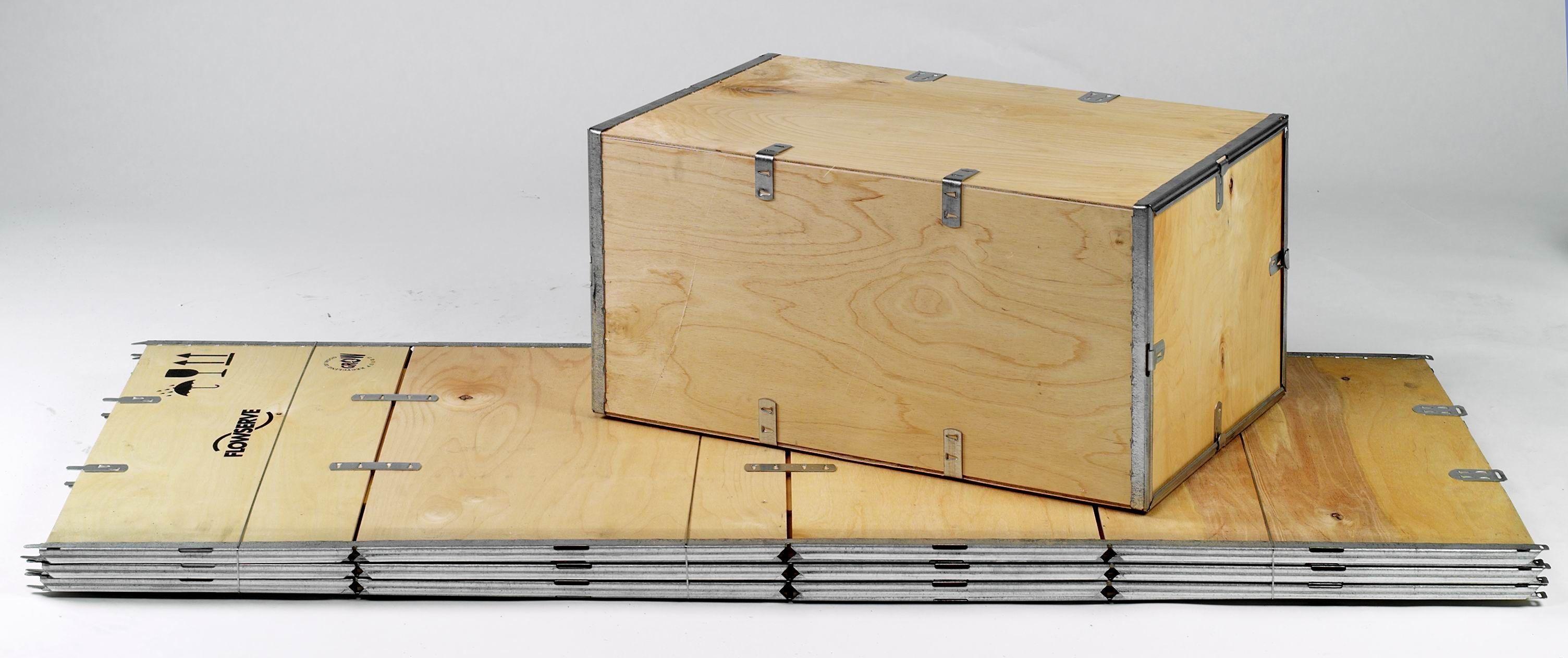 Caisse en contreplaqué / de transport / pliable max. 800 x 600 x 500 mm | No-Nail STD series No-Nail Boxes