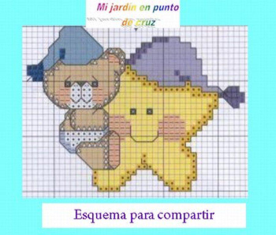 Patrones Punto De Cruz En Pdf Cross Stitch Cute Cross Stitch Baby Cross