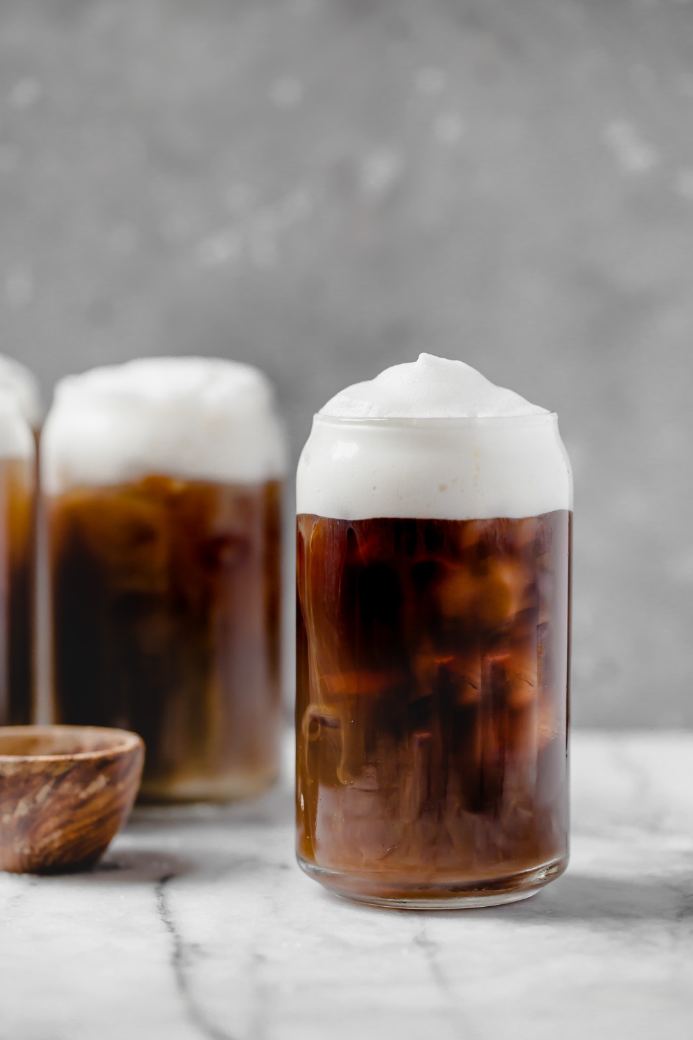 Salted cream cold foam cold brew coffee Recipe in 2020