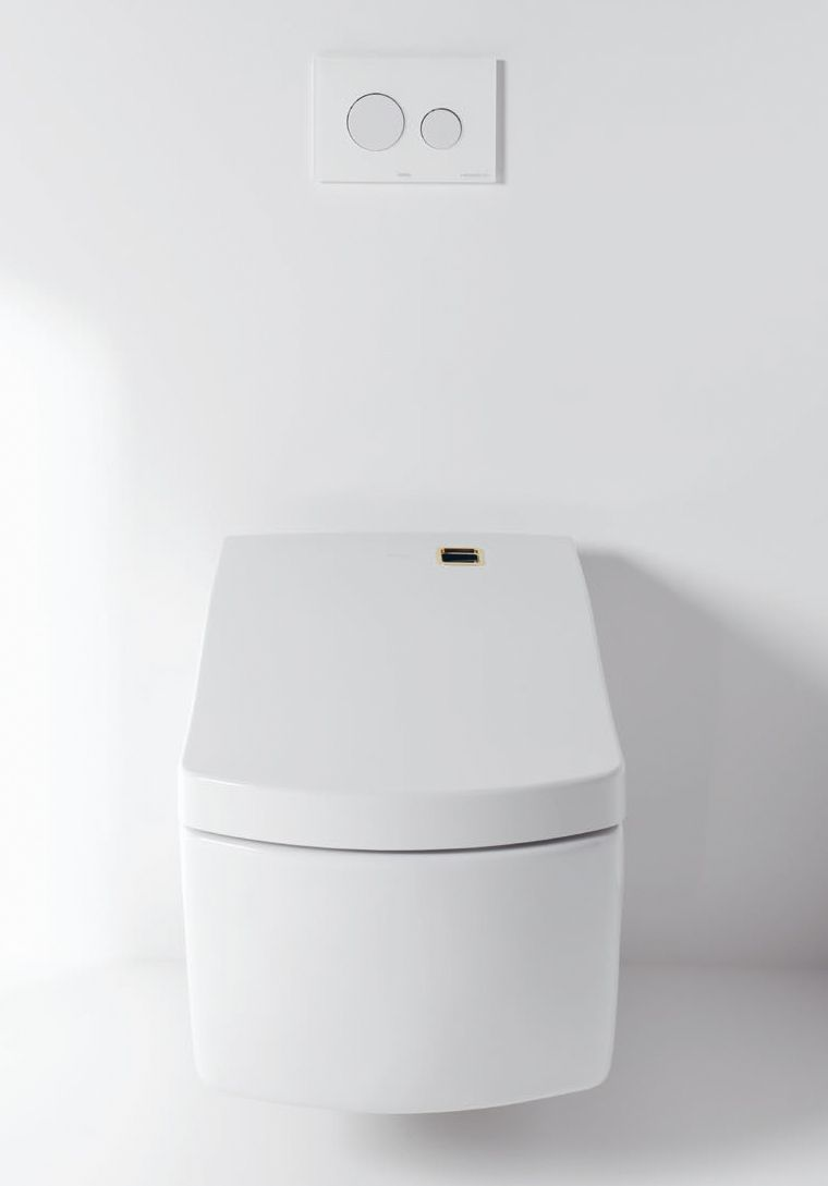 Completely self-cleaning Wc with the Toto Washlet technologies ...