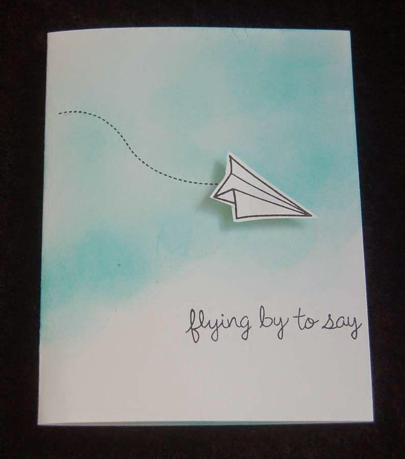 lynn s craft blog super fast paper plane thank you card motto lynn s craft blog super fast paper plane thank you card