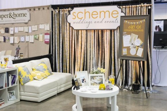 Event Planner Booth Example by scheme events Micah Mitzvah