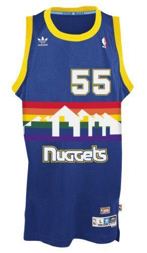 Dikembe Mutombo Denver Nuggets Hardwood Classics Adidas NBA Throwback  Swingman Jersey.  basketball  jersey  nuggets  classics  dikembe  mutombo   denver ... 7c7bd0bd3