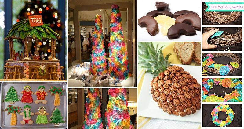 Nice Hawaiian Christmas Party Ideas Part - 5: Perhaps You Want To Make The Most Of The Balmy Temperatures Wherever You  Are In The World. Whatever The Scenario, These 15 Tropical Christmas Party  Ideas ...