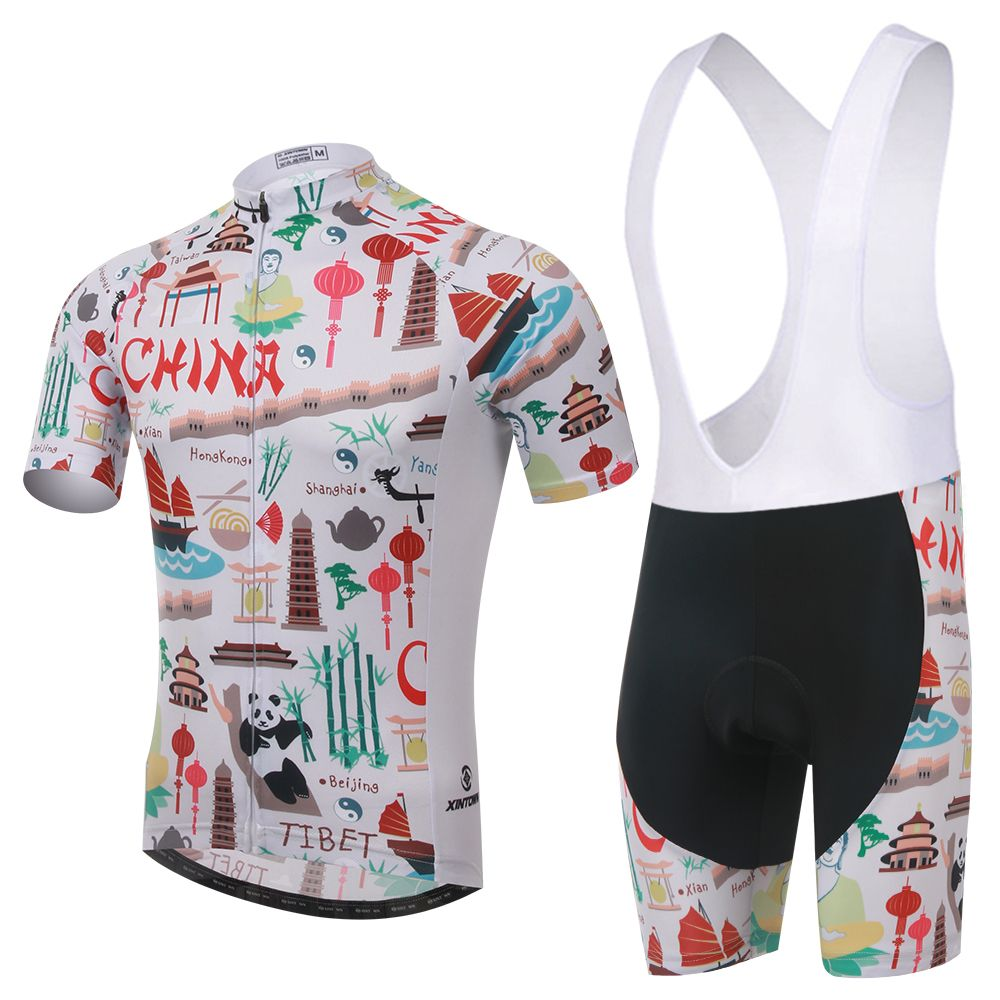 Shorts · China Men Cycling Bib Set Clothing Outdoor Sports Suit Short  Sleeve Jersey ... 4445e49e7
