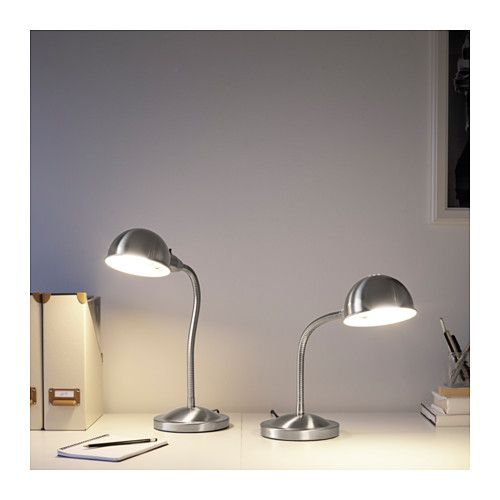 Format Work Lamp With Led Bulb Ikea Silver Sands 60
