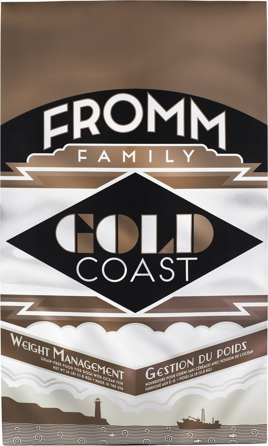 Fromm Gold Coast Weight Management Dry Dog Food Grain Free Dog