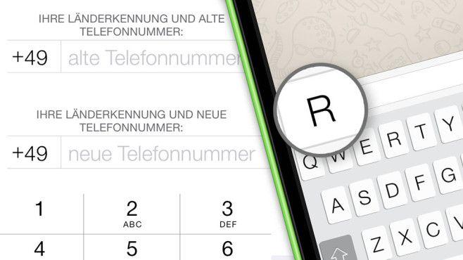 WhatsApp: So wechseln Sie auf eine neue Nummer   Neue wege