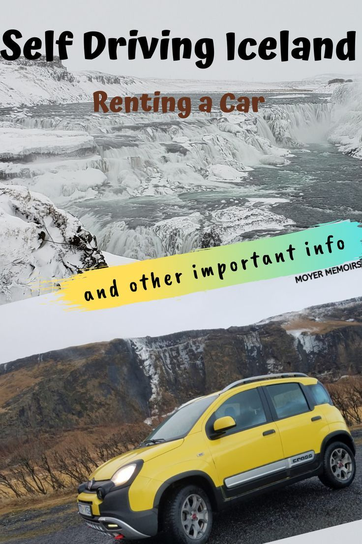 How to easily rent a car in iceland and other important