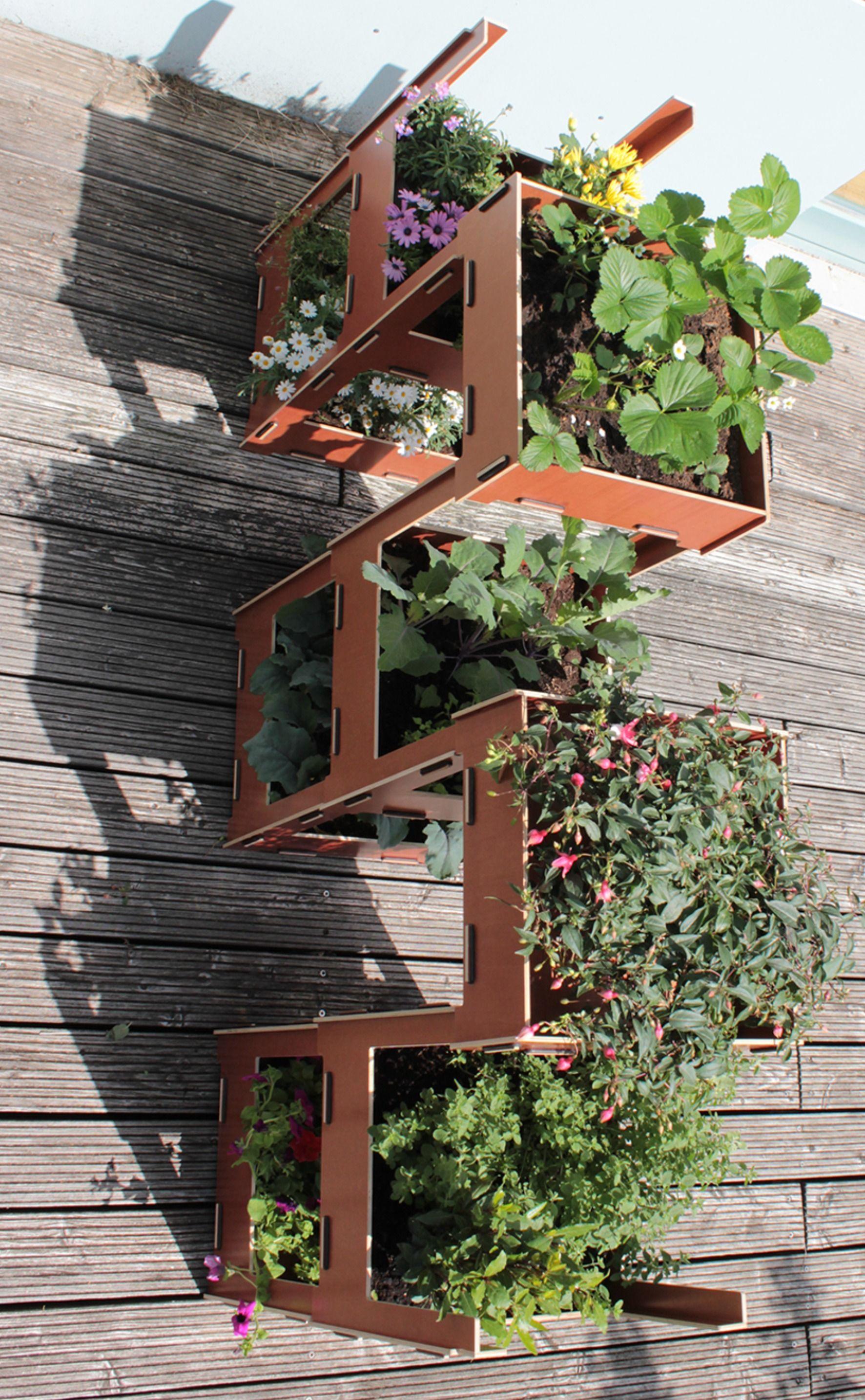Set A Vertical Garden Vertikaler Garten Raumtrenner Garten