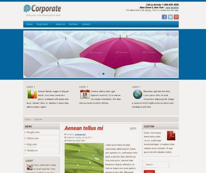 Peexa brings free Professional Website themes, templates, plugins ...