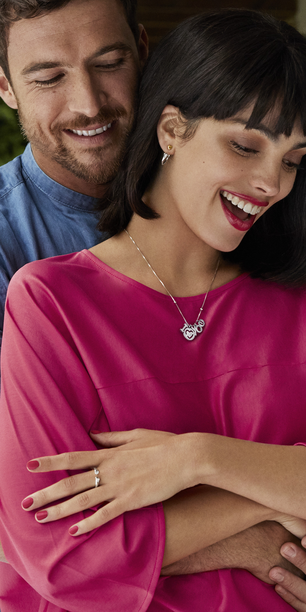 Make a loving statement this Valentine's with the cute 'I Love You' Necklace from PANDORA's Valentine's collection.