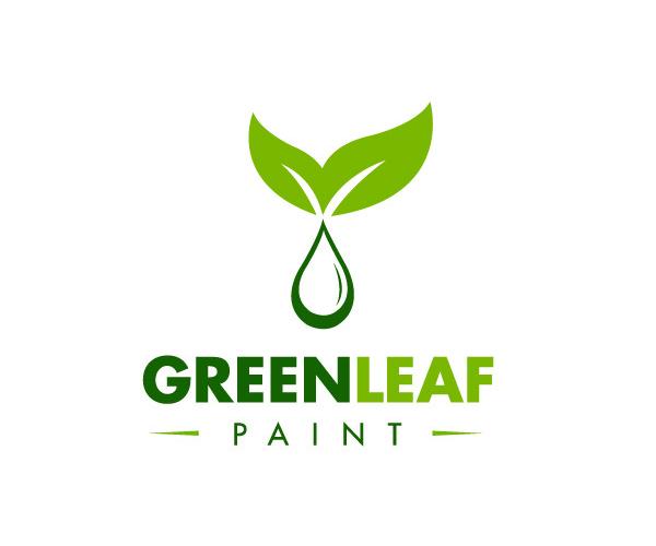 Green Leaf #logodesign #logos | Logo design | Pinterest ...