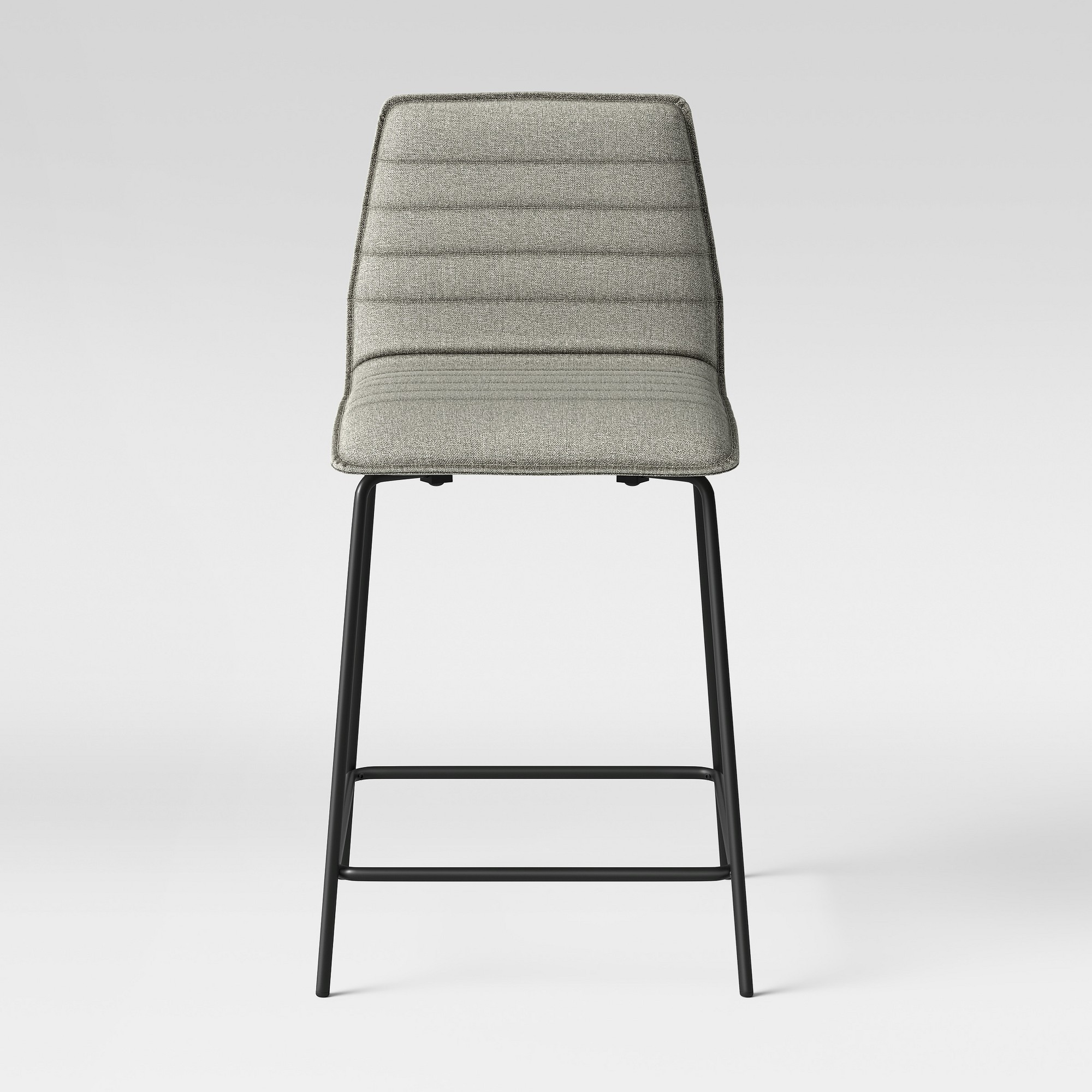 Salk Modern Quilted 24 Counter Stool