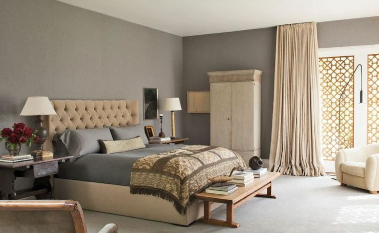Color Tortora Per Camera Da Letto : Esempio di abbinamento color tortora camera da letto con