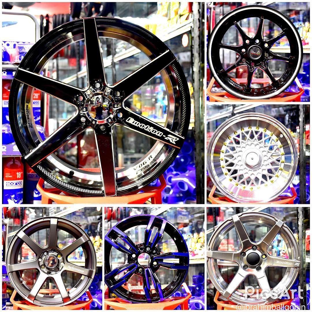 New stock alloy wheels